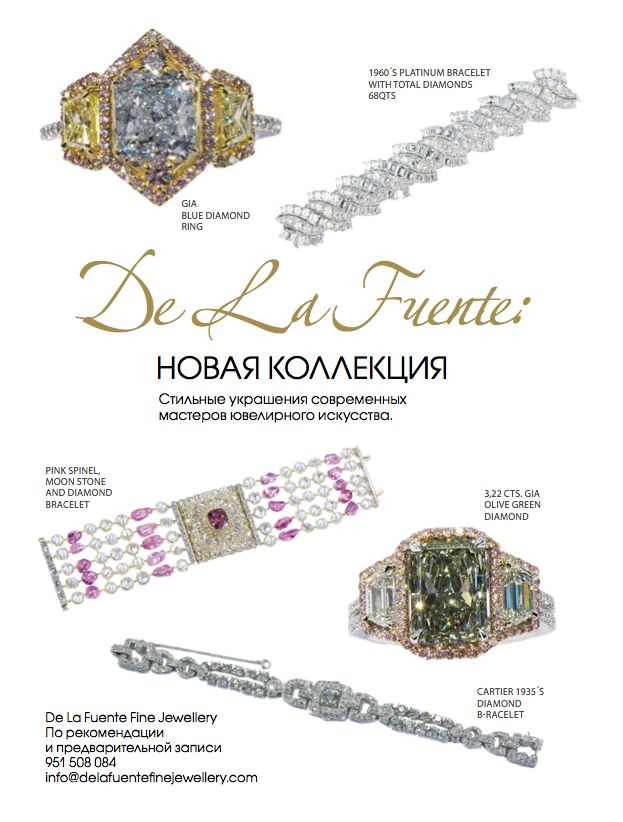Delafuente Fine Jewellery at Linda magazine - October 2014