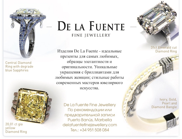 Delafuente Fine Jewellery at Linda magazine - February 2017